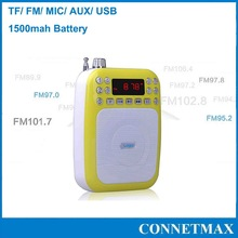 functional Portable Amplifier Small size&lightweight MINI amplifier use for Teaching/tour guiding/outdoor activity/promotion etc