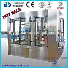 automático de agua mineral de llenado de costo de la planta china alibaba proveedor de polvo seco de llenado de la máquina para extintor