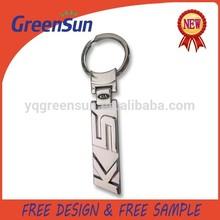 Custom Zinc Alloy Metal Car Keyring