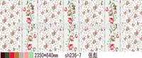 China Changxing fabric supplier/manufacturer, Floral 3D design for making bedding sets