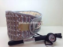 Patent innovative new product Air Decompression Belt Back Brace Lumbar Support Extender Belt