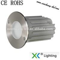 cTUVus certificate IP67 3w/1w 24volt/12volt recessed inground light led led lights in concrete