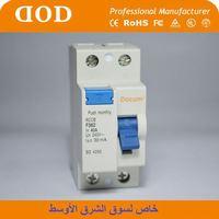 1P+N Residual Current Circuit Breaker RCCB(DZ30LE) MCB / MCCB / RCBO function earth leakage circuit breaker