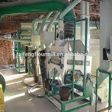 corn peeling and grits making machine/maize flour production process