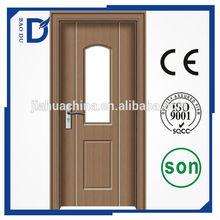 pvc wood doors office entrance door 2015 new design