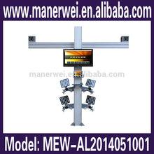 Hot! Computerized Intelligent Visual 3D Four Wheel Aligner Equipment 3d aligning machine price