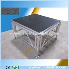4ft x4ft(1.22x1.22) aluminum modular stage