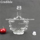 mini clear glass bottles bottled sangria