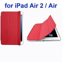 Offcial Elegant Style Ultrathin Three Folio Folding Smart Leather Case for iPad Air 2