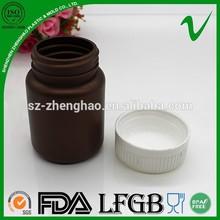 80 ml samll âmbar atacado recipiente de plástico para uso de cuidados de saúde