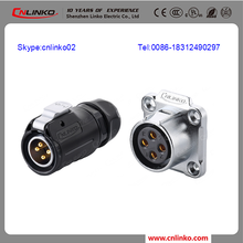 china supplier M20 Socket Cable Plugs Connector For LED, Audio,AV system