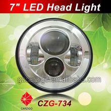 "best sale IP6K9K water resistant 12volt 24volt for 07-14 for jeep wranglerr jk 2 door 7"" LED headlight"