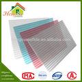 la venta de la parte superior de aislamiento de sonido de la hoja de plástico cubierta de efecto invernadero