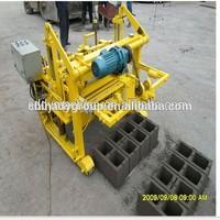 Tanzania low investment high profit business qt40-3a brick machine for small investors