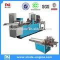 Guardanapo lenço de papel máquina interfold 1/4 guardanapo máquina de dobrar decorativa guardanapos máquina grava o NP7000A