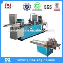 napkin paper tissue machine interfold 1/4 napkin folding machine decorative napkins emboss machine NP7000A