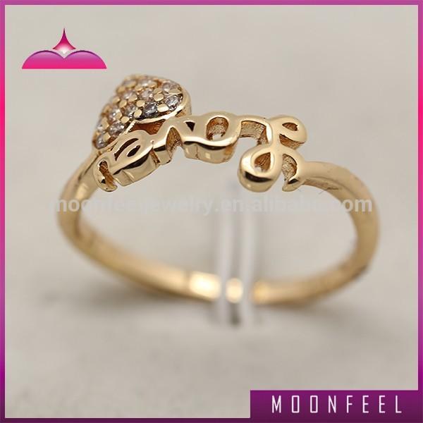 new design 1 gram gold finger ring for buy simple
