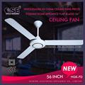 """Novo design 56 polegadas ventilador de teto branco 56"""" instalação de ventilador de teto 5 pás do ventilador de teto com ce e cb hgk-fd"""