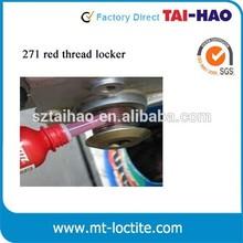 Free sample Loctit equivalent 271 sealing screw thread locking adhesive