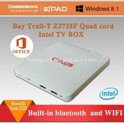 Hongpad Intel mini pc tv box Z3735F Windows 8.1(MINI-PC)