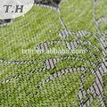 chenille tecido para o vestido da menina flor