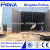 OEM / ODM service available sand blasting room / sand blasting booth for structure manual cleaning