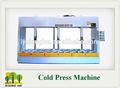 woodwoking máquina fria de imprensa