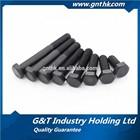 Low carbon steel black finish din933 din558 M16 hex head bolt