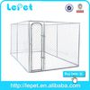 large outdoor galvanize tube dog cage pet kennel sloping
