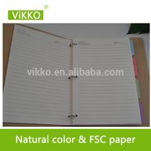 a4 loose leaf paper planner organiser