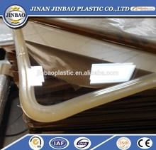 china factory supply plastic cast acrylic basketball backboard