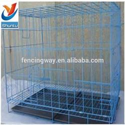 Heavy Duty Hot DIP Galvanized Chain Link Steel Dog Kennel