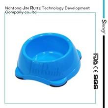 anti-slip cheap plastic pet bowls/ dog bowls/cat bowls
