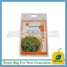 MJ-KC07 die cut handle food compound plastic bag for milk plastic bag clothes shipping