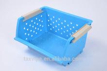 kitchen vagetable plastic storage box & racks