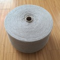 20s poliéster reciclado de algodão mão fios de tricô para meias