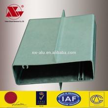 Oem fabricant 6060 / 6061 / 6063 alliage bien qualité profilé en aluminium fenêtres coulissantes