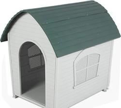 Plastic Cottage Dog Kennel