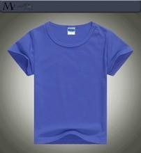 R&H blank soft short Sleeve OEM 2015 plain baby t-shirts