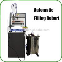 Hot sale oil filling robot for 510 thread cbd oil vaporizer pen disposable pen