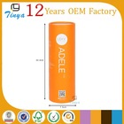 yellow cylinder cardboard candle tube box packaging