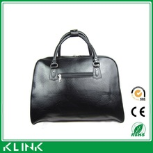 2015 china shenzhen factory direct men bussiness leather travel bag duffle bag