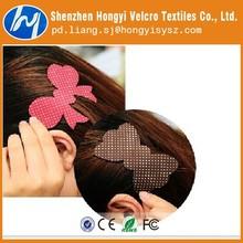 Specialized custom velcro fringe hair