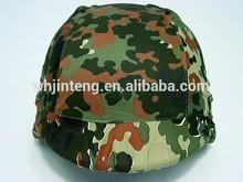 german woodland camouflage M88 PASGT Kevlar helmet cover