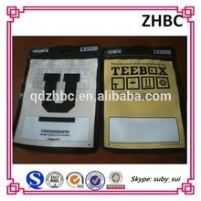 custom printed underwear plastic zip lock pouch
