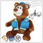 Colorful Mini stuffed animal mini voice recorder for plush toy