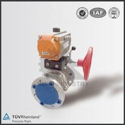 pneumatic actuator ball valve pneumatic butterfly valve