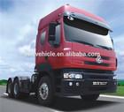 Brand new 6*4 375hp left hand drive trailer truck sale