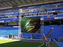 Energy saving big LED screen swimming scoreboard display time score scorer full color HD LED screen