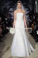 Sereia barco branco- pescoço laço appliqued por medida de vestidos de noivas vestidos de noiva wdz053 africano estilo de vestidos de noiva